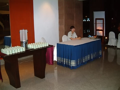 Nris Theatre Refreshment Area