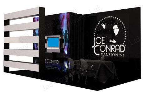 Our New Booth Design Looks Great! | Illusionist Joe Conrad Blog