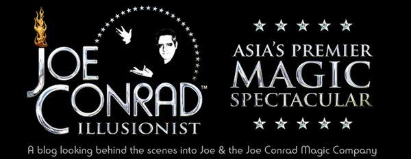Illusionist Joe Conrad Blog