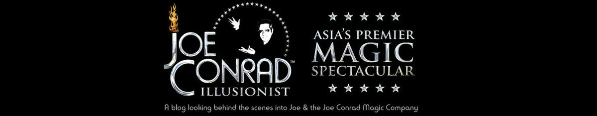 Illusionist Joe Conrad Blog