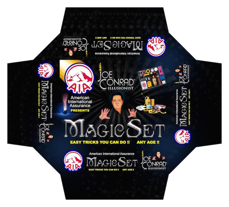 Illusionist Joe Conrad Magic Kit Prototype For AIA Insurance